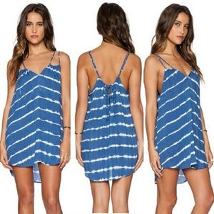 ACACIA SWIMWEAR - Capri Dress / pacific tides blue